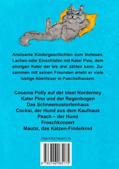 Kater Pinos Gutenachtgeschichten Band 2 Buchrücken