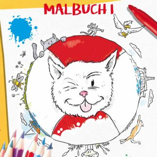 Kater Pino Malbuch 1 Cover