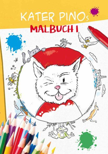 Kater Pino Malbuch 1 Cover