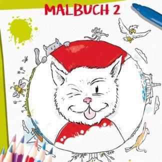 Kater Pino Malbuch 2 Cover