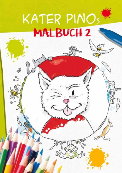 Kater Pino Malbuch 2 Cover